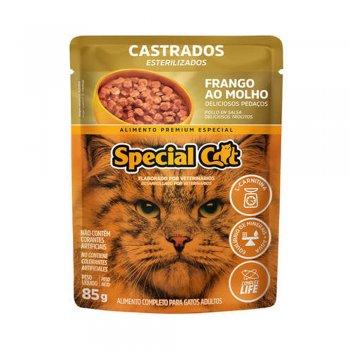 SPECIAL CAT SACHÊ CASTRADOS SABOR FRANGO AO MOLHO 85 GR