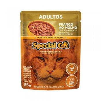 SPECIAL CAT SACHÊ ADULTOS SABOR FRANGO AO MOLHO 85 GR