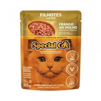 SPECIAL CAT SACHÊ FILHOTES SABOR FRANGO AO MOLHO 85 GR