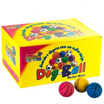 BOLA MACIÇA DOG BALL 1 UNIDADE