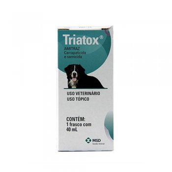 SARNICIDA E CARRAPATICIDA TRIATOX 40 ML