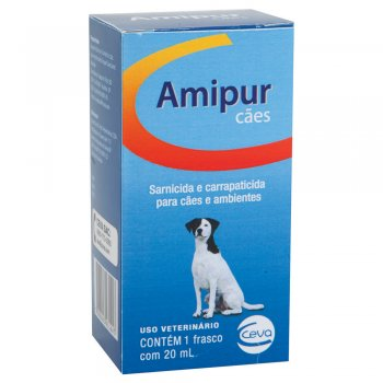 SARNICIDA E CARRAPATICIDA AMIPUR 20 ML