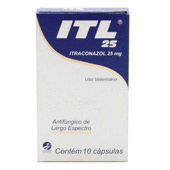 ITL ITRACONAZOL 25 MG 10 CÁPSULAS