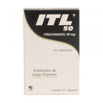 ITL ITRACONAZOL 50 MG 10 CÁPSULAS