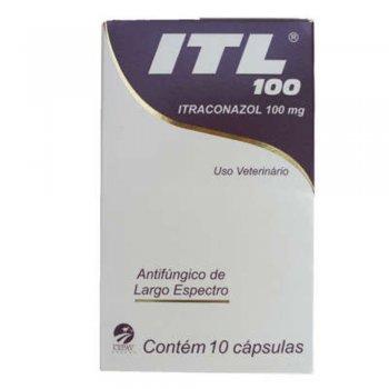 ITL ITRACONAZOL 100 MG 10 CÁPSULAS