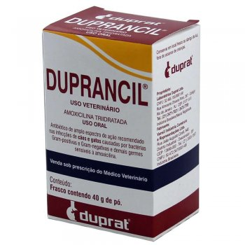 DUPRANCIL AMOXICILINA TRI-HIDRATADA 40 GR
