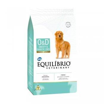 RAÇÃO EQUILÍBRIO DOG O&D 7,5 KG