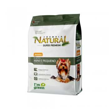 RAÇÃO ADIMAX FÓRMULA NATURAL ADULTO MINI 2,5 KG