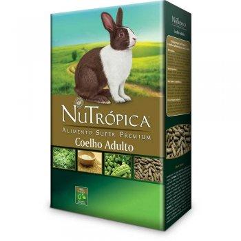 RAÇÃO NUTRÓPICA COELHO NATURAL 500 GR
