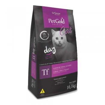 RAÇÃO PETGOLD PREMIUM CAT DAY 10,1 KG
