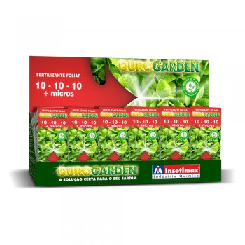 FERTILIZANTE OUROGARDEN 10-10-10 + MICROS 100 ML