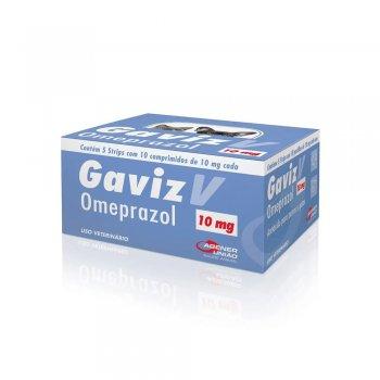 GAVIZ V OMEPRAZOL 10 MG CARTELA 10 COMPRIMIDOS