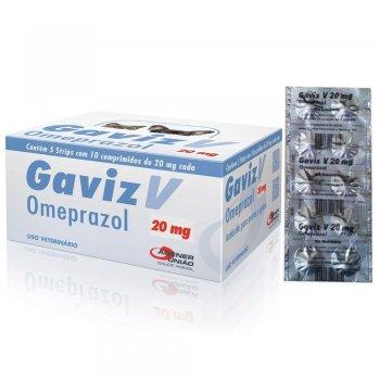 GAVIZ V OMEPRAZOL 20 MG CARTELA 10 COMPRIMIDOS