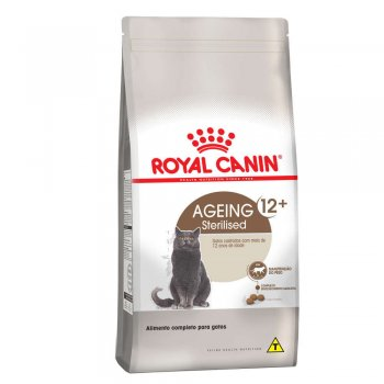 RAÇÃO ROYAL CANIN CAT AGEING STERELISED 12+ 400 GR