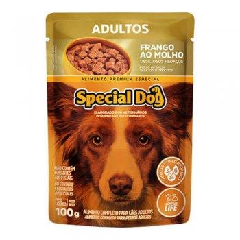 RAÇÃO SPECIAL DOG SACHÊ ADULTO FRANGO 100 GR