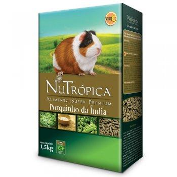 RAÇÃO NUTRÓPICA NATURAL PORQUINHO DA ÍNDIA  1,5 KG