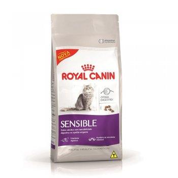 RAÇÃO ROYAL CANIN GATOS SENSIBLE 1,5 KG