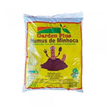 HUMUS DE MINHOCA GARDEN PLUS 20 KG