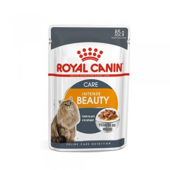 RAÇÃO ROYAL CANIN SACHÊ INTENSE BEAUTY WET 85 GR