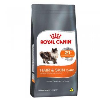 RAÇÃO ROYAL CANIN FELINE HAIR & SKIN 33 1,5 KG
