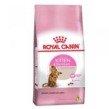 RAÇÃO ROYAL CANIN CAT KITTEN STERILISED 1,5 KG