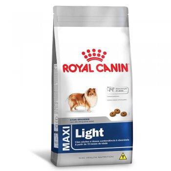 RAÇÃO ROYAL CANIN MAXI LIGHT 15 KG