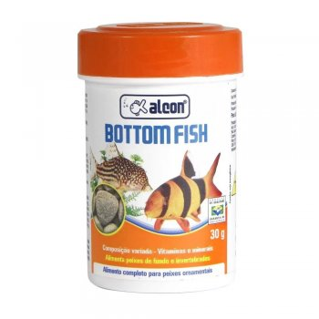 RAÇÃO ALCON BOTTOM FISH 30 GR