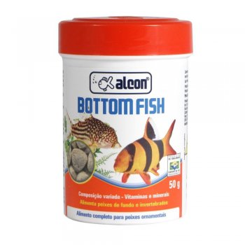 RAÇÃO ALCON BOTTOM FISH 50 GR