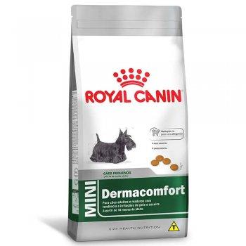 RAÇÃO ROYAL CANIN CÃES MINI DERMACOMFORT 2,5 KG