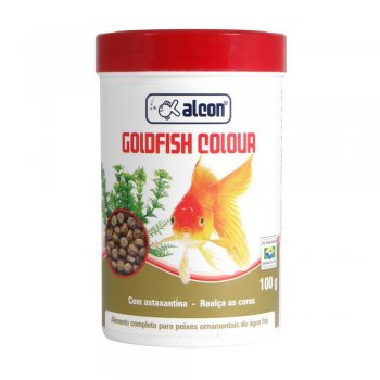 RAÇÃO ALCON GOLDFISH COLOR 100 GR