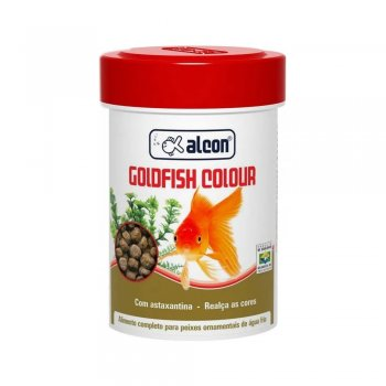 RAÇÃO ALCON GOLDFISH COLOUR 40 GR