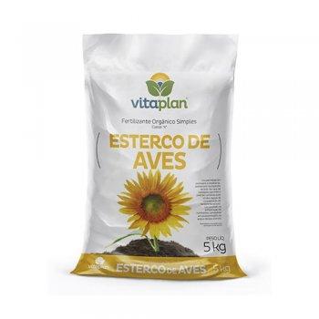ESTERCO DE AVES ÚNICA VITAPLAN 5 KG