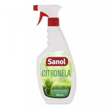 REPELENTE SANOL SPRAY CITRONELA 500 ML
