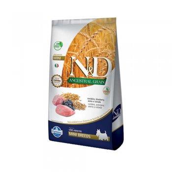 RAÇÃO FARMINA N&D ANCESTRAL CANINE CORDEIRO MINI 800 GR