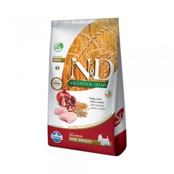 RAÇÃO FARMINA N&D ANCESTRAL CANINE FRANGO MINI 10 KG