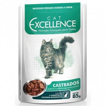RAÇÃO CAT EXCELLENCE SACHÊ CASTRADOS 85 GR