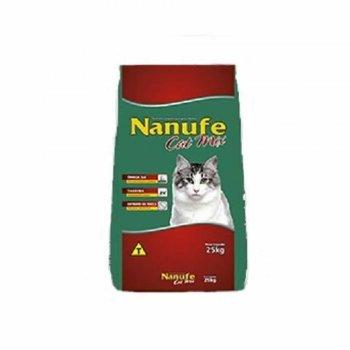 RAÇÃO NANUFE CAT 25 KG