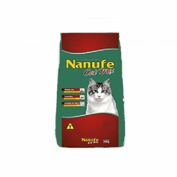 RAÇÃO NANUFE CAT MIX 3 KG