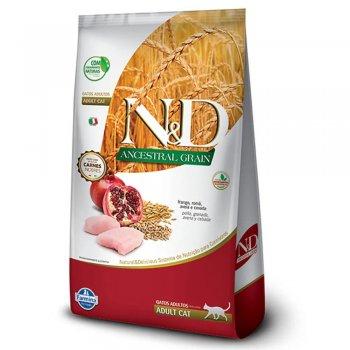 RAÇÃO FARMINA N&D FELINE ANCESTRAL ADULTOS FRANGO 400 GR