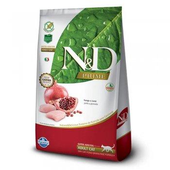 RAÇÃO FARMINA N&D FELINE PRIME ADULTOS FRANGO 7,5 KG