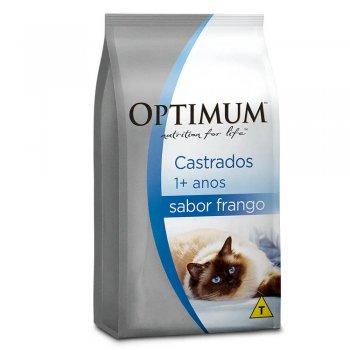 RAÇÃO OPTIMUM DRY CAT ADULTOS CASTRADOS FRANGO 10,1KG