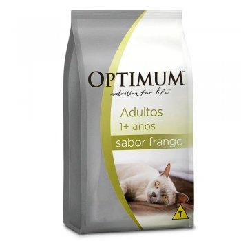 RAÇÃO OPTIMUM DRY CAT ADULTOS FRANGO 1 KG