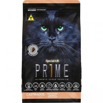RAÇÃO SPECIAL CAT PRIME CASTRADOS SALMÃO 3 KG