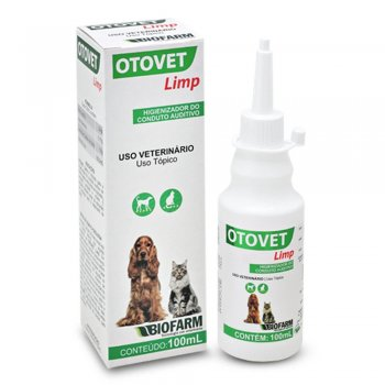 HIGIENIZADOR AUDITIVO OTOVET LIMP 100 ML