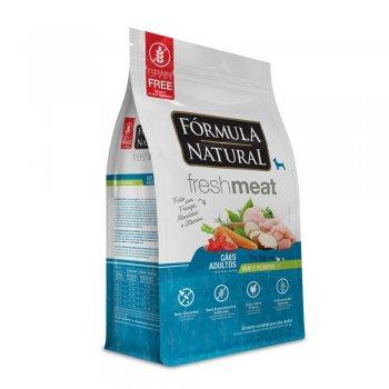 RAÇÃO FÓRMULA NATURAL FRESH MEAT CÃES ADULTOS MINI E PEQUENOS 7 KG
