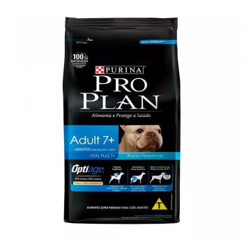 RAÇÃO PURINA  PRO PLAN 7+ DOG SMALL BREED 1 KG