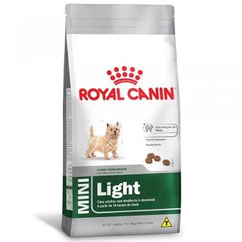 RAÇÃO ROYAL CANIN MINI LIGHT 7,5 KG