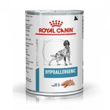 RAÇÃO ROYAL CANIN CANINE HYPOALLERGENIC LATA 400 GR
