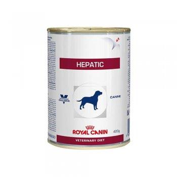 RAÇÃO ROYAL CANIN CANINE HEPATIC LATA 420 GR