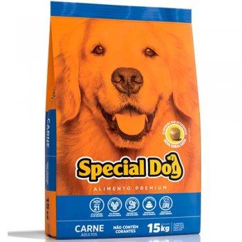 RAÇÃO SPECIAL DOG ADULTO CARNE 15 KG
